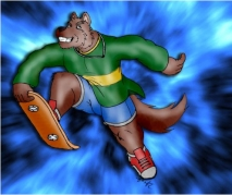 Hover Wolf