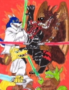 Jedi Wolves