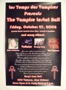 The Vampire Lestat Ball Poster 1